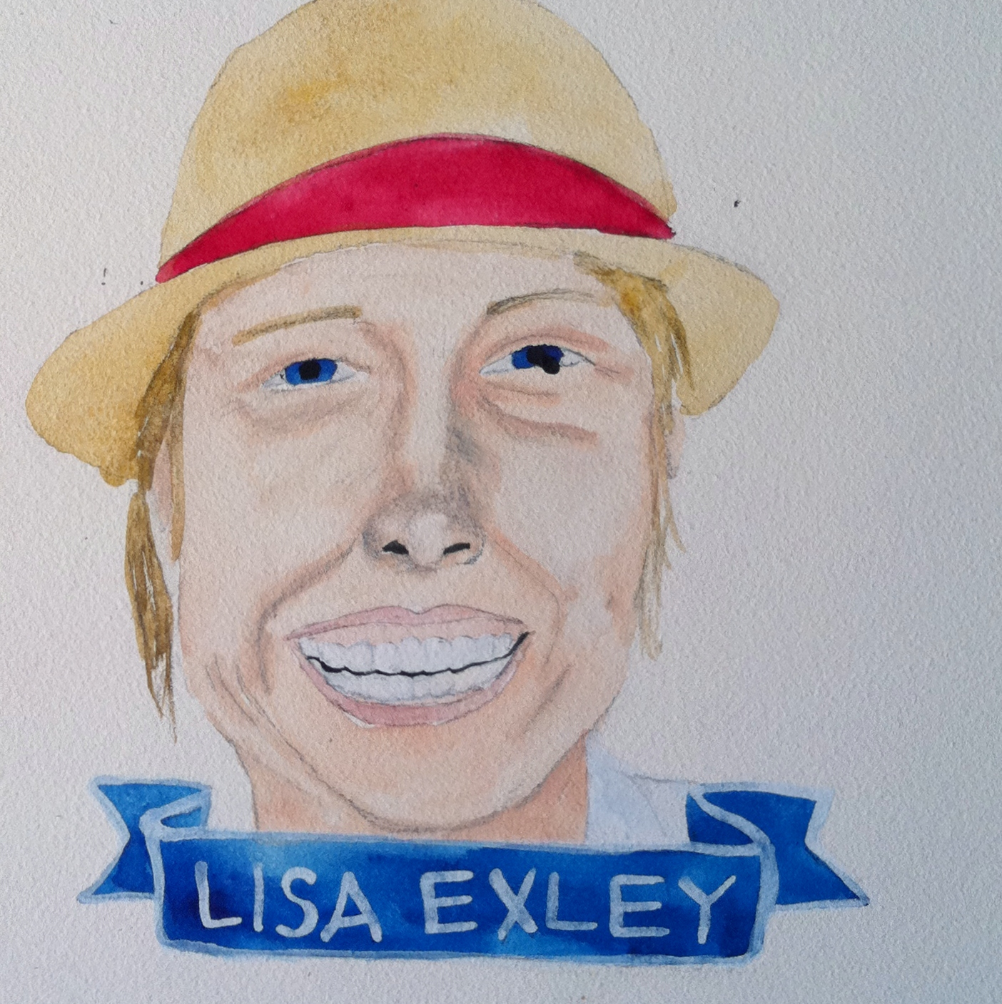 Talent Loves Company at Barbara Archer Gallery: 365 portraits by Lydia Walls - Lisa Exley