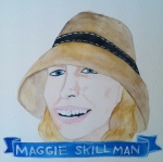 Talent Loves Company at Barbara Archer Gallery: 365 portraits by Lydia Walls - Maggie Skillman