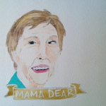Talent Loves Company at Barbara Archer Gallery: 365 portraits by Lydia Walls - Mama Dear