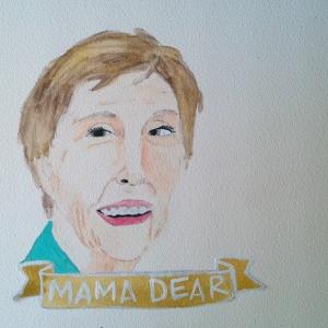 Talent Loves Company at Barbara Archer Gallery: 365 portraits by Lydia Walls - Mama Dear
