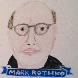 Talent Loves Company at Barbara Archer Gallery: 365 portraits by Lydia Walls - Mark Rothko