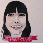 Talent Loves Company at Barbara Archer Gallery: 365 portraits by Lydia Walls - Mary Craig