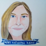 Talent Loves Company at Barbara Archer Gallery: 365 portraits by Lydia Walls - Mary Kathryn Kaye