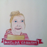 Talent Loves Company at Barbara Archer Gallery: 365 portraits by Lydia Walls - Matilda Graham