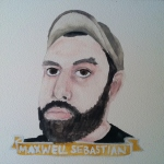Talent Loves Company at Barbara Archer Gallery: 365 portraits by Lydia Walls - Maxwell Sebastian