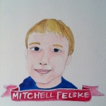 Talent Loves Company at Barbara Archer Gallery: 365 portraits by Lydia Walls - Mitchell Felske
