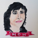 Talent Loves Company at Barbara Archer Gallery: 365 portraits by Lydia Walls - Mom