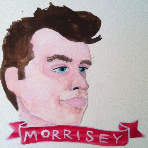 Talent Loves Company at Barbara Archer Gallery: 365 portraits by Lydia Walls - Morrisey