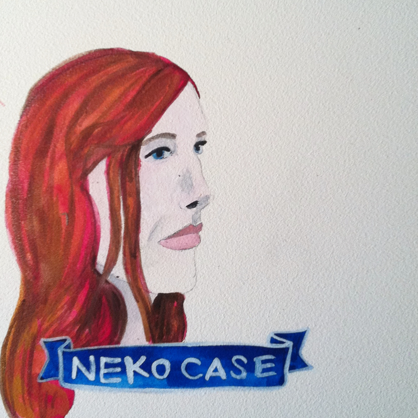 Talent Loves Company at Barbara Archer Gallery: 365 portraits by Lydia Walls - Neko Case