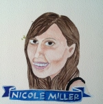 Talent Loves Company at Barbara Archer Gallery: 365 portraits by Lydia Walls - Nicole Miller