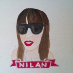 Talent Loves Company at Barbara Archer Gallery: 365 portraits by Lydia Walls - Nilan