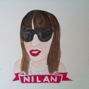 Talent Loves Company at Barbara Archer Gallery: 365 portraits by Lydia Walls - Nilan
