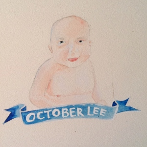 Talent Loves Company at Barbara Archer Gallery: 365 portraits by Lydia Walls - October Lee