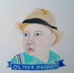 Talent Loves Company at Barbara Archer Gallery: 365 portraits by Lydia Walls - Oliver Barnes