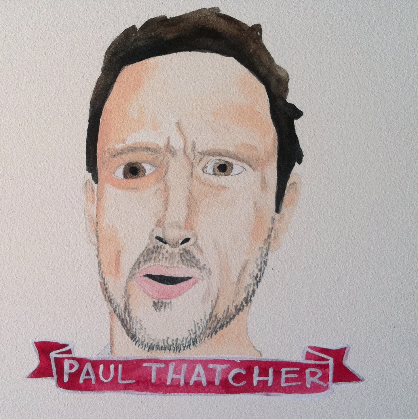 Talent Loves Company at Barbara Archer Gallery: 365 portraits by Lydia Walls - Paul Thatcher