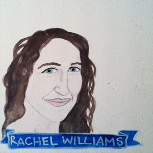 Talent Loves Company at Barbara Archer Gallery: 365 portraits by Lydia Walls - Rachel Williams
