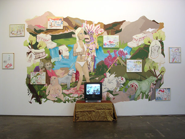 Golden Blizzard: A Retrospective (late 2005 – mid 2006) at Marcia Wood Gallery by Golden Blizzard Collaboration