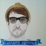 Talent Loves Company at Barbara Archer Gallery: 365 portraits by Lydia Walls - Richard Arnold