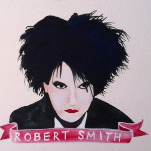 Talent Loves Company at Barbara Archer Gallery: 365 portraits by Lydia Walls - Robert Smith