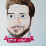 Talent Loves Company at Barbara Archer Gallery: 365 portraits by Lydia Walls - Ryan James