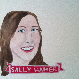 Talent Loves Company at Barbara Archer Gallery: 365 portraits by Lydia Walls - Sally Hamer