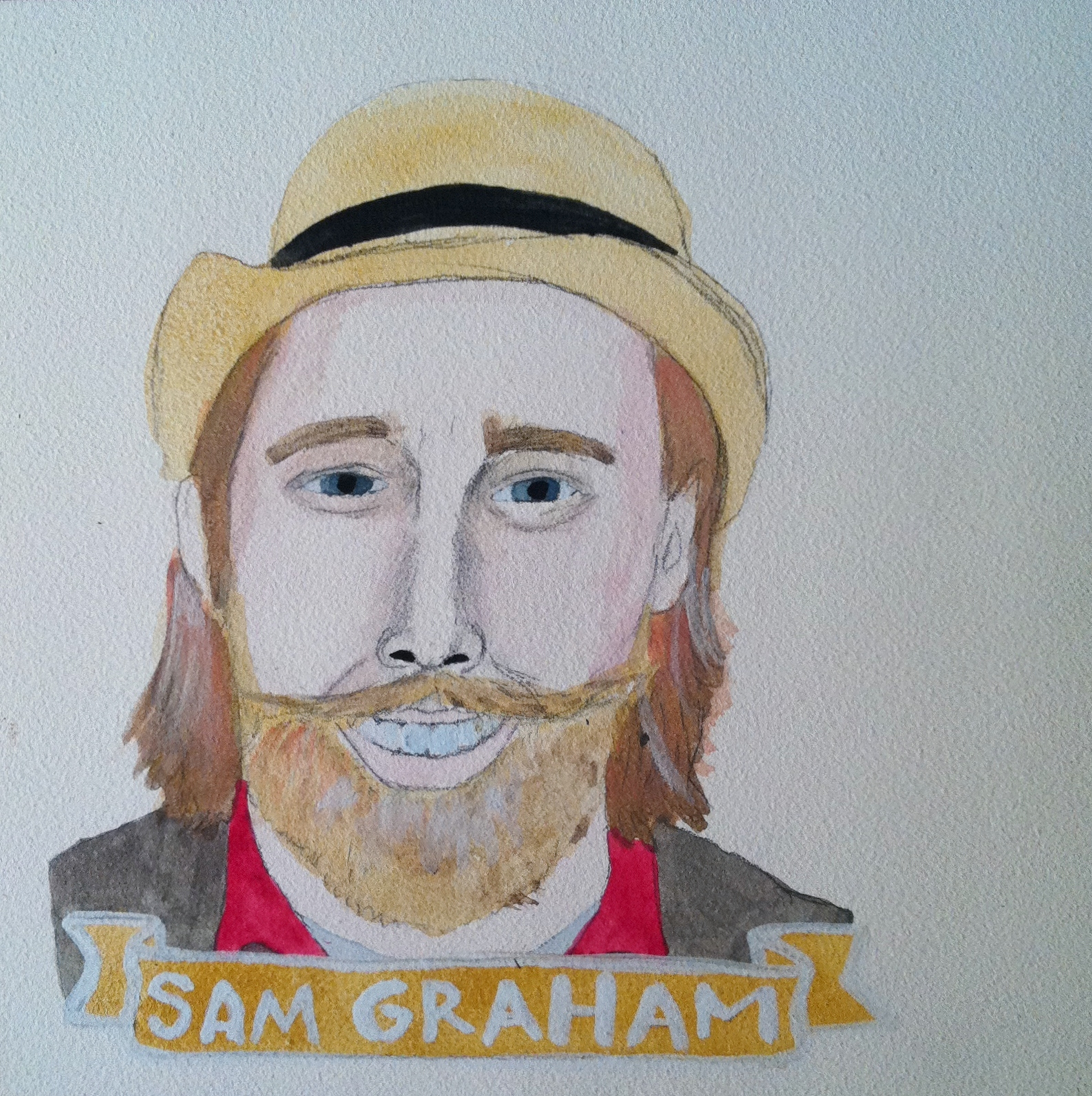 Talent Loves Company at Barbara Archer Gallery: 365 portraits by Lydia Walls - Sam Graham
