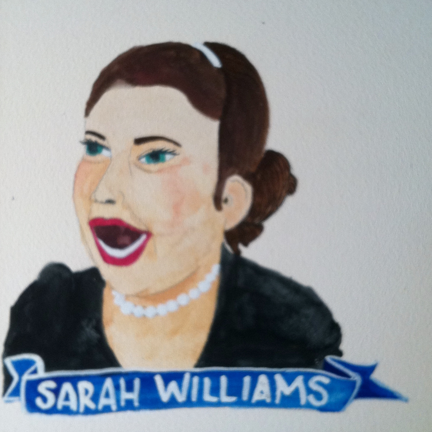 Talent Loves Company at Barbara Archer Gallery: 365 portraits by Lydia Walls - Sarah Williams