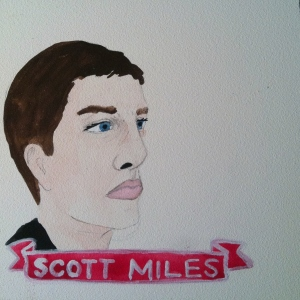 Talent Loves Company at Barbara Archer Gallery: 365 portraits by Lydia Walls - Scott Miles