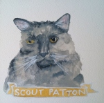 Talent Loves Company at Barbara Archer Gallery: 365 portraits by Lydia Walls - Scout Patton