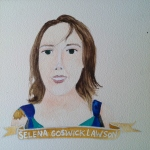 Talent Loves Company at Barbara Archer Gallery: 365 portraits by Lydia Walls - Selena Goswick