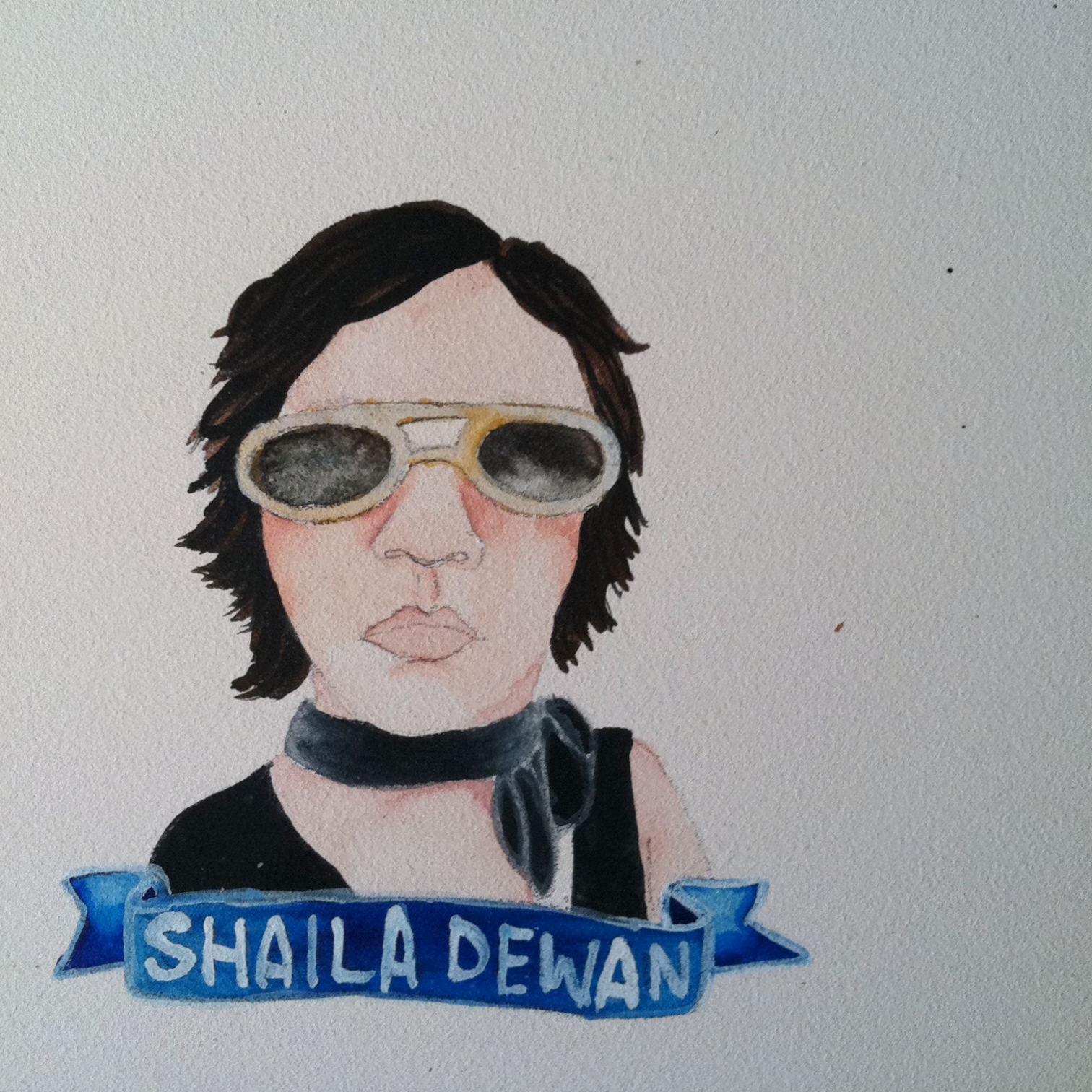 Talent Loves Company at Barbara Archer Gallery: 365 portraits by Lydia Walls - Shaila Dewan