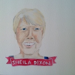 Talent Loves Company at Barbara Archer Gallery: 365 portraits by Lydia Walls - Sheila Dixon