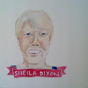 Talent Loves Company at Barbara Archer Gallery: 365 portraits by Lydia Walls - Sheila Dixon
