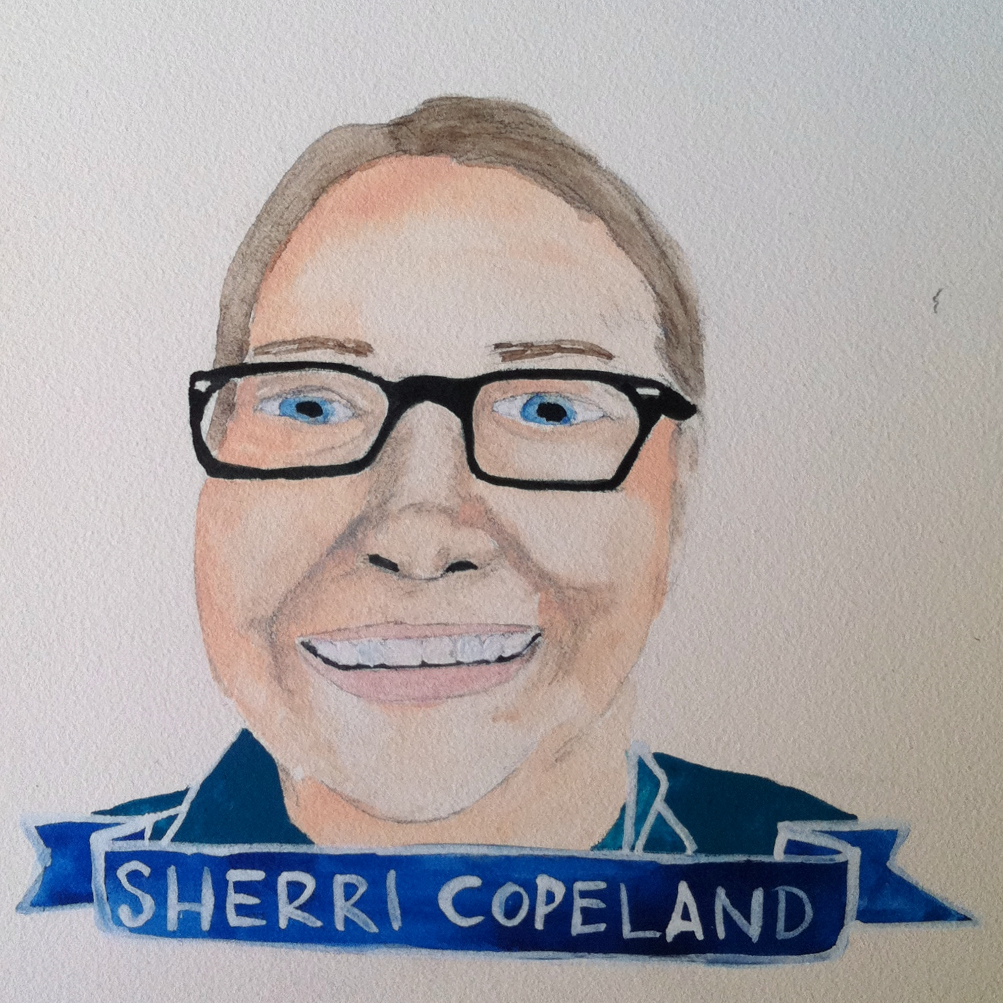 Talent Loves Company at Barbara Archer Gallery: 365 portraits by Lydia Walls - Sherri Copeland