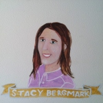 Talent Loves Company at Barbara Archer Gallery: 365 portraits by Lydia Walls - Stacy Bergmark