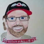Talent Loves Company at Barbara Archer Gallery: 365 portraits by Lydia Walls - Stefan Kallweit