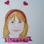 Talent Loves Company at Barbara Archer Gallery: 365 portraits by Lydia Walls - Stella