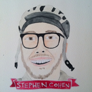Talent Loves Company at Barbara Archer Gallery: 365 portraits by Lydia Walls - Stephen Cohen