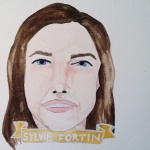 Talent Loves Company at Barbara Archer Gallery: 365 portraits by Lydia Walls - Sylvie Fortin