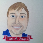 Talent Loves Company at Barbara Archer Gallery: 365 portraits by Lydia Walls - Taylor Jones