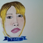 Talent Loves Company at Barbara Archer Gallery: 365 portraits by Lydia Walls - TBoz