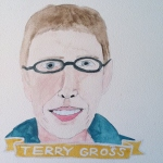 Talent Loves Company at Barbara Archer Gallery: 365 portraits by Lydia Walls -Terry Gross
