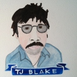 Talent Loves Company at Barbara Archer Gallery: 365 portraits by Lydia Walls - TJ Blake