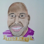 Talent Loves Company at Barbara Archer Gallery: 365 portraits by Lydia Walls - Todd Riley