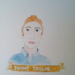 Talent Loves Company at Barbara Archer Gallery: 365 portraits by Lydia Walls - Tommy Taylor