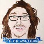 Talent Loves Company at Barbara Archer Gallery: 365 portraits by Lydia Walls - Tyler Walters