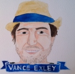 Talent Loves Company at Barbara Archer Gallery: 365 portraits by Lydia Walls - Vance Exley