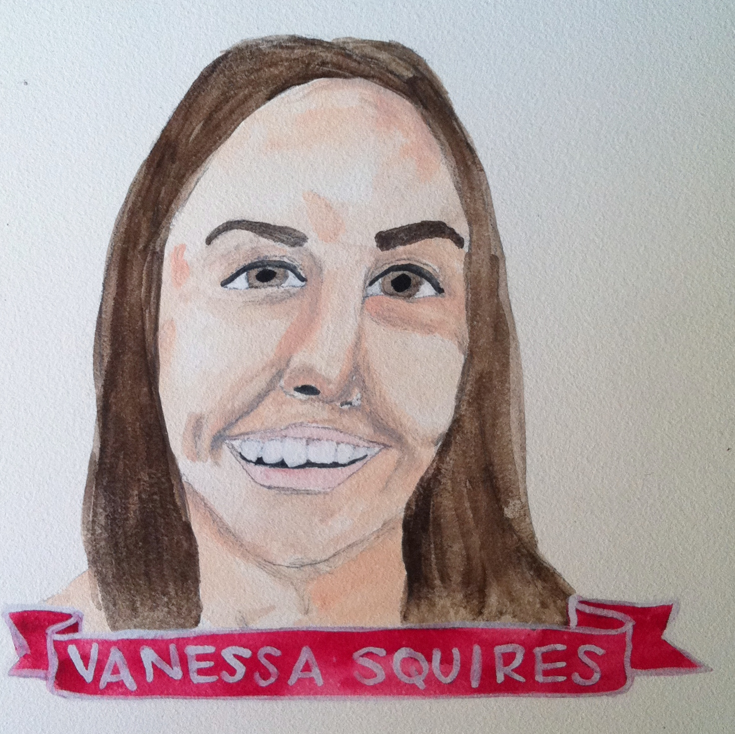 Talent Loves Company at Barbara Archer Gallery: 365 portraits by Lydia Walls - Vanessa Squires