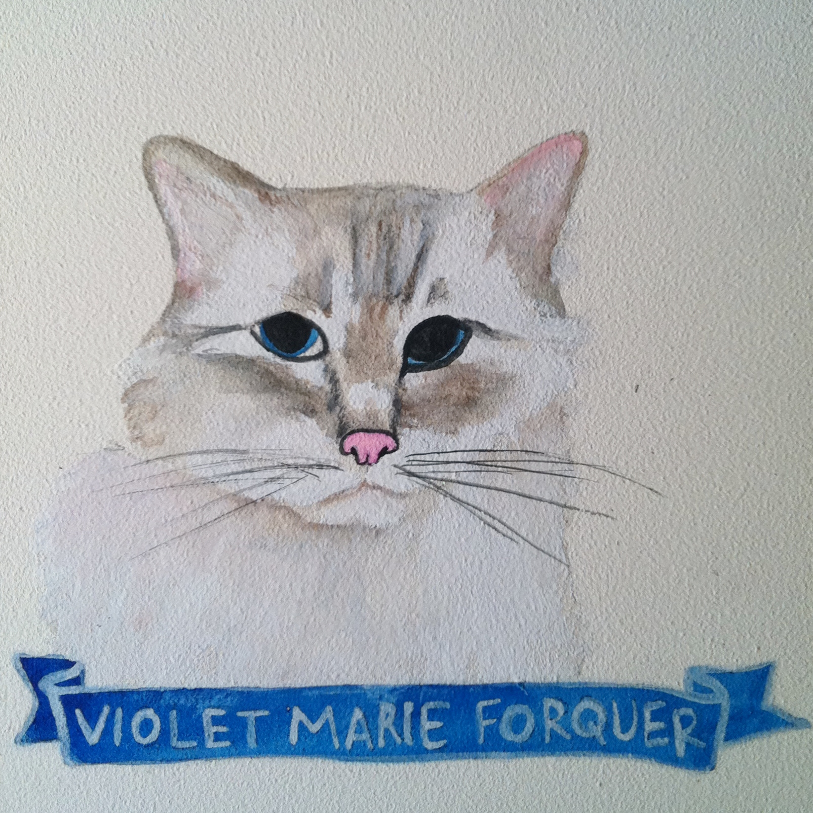 Talent Loves Company at Barbara Archer Gallery: 365 portraits by Lydia Walls - Violet Marie Forquer