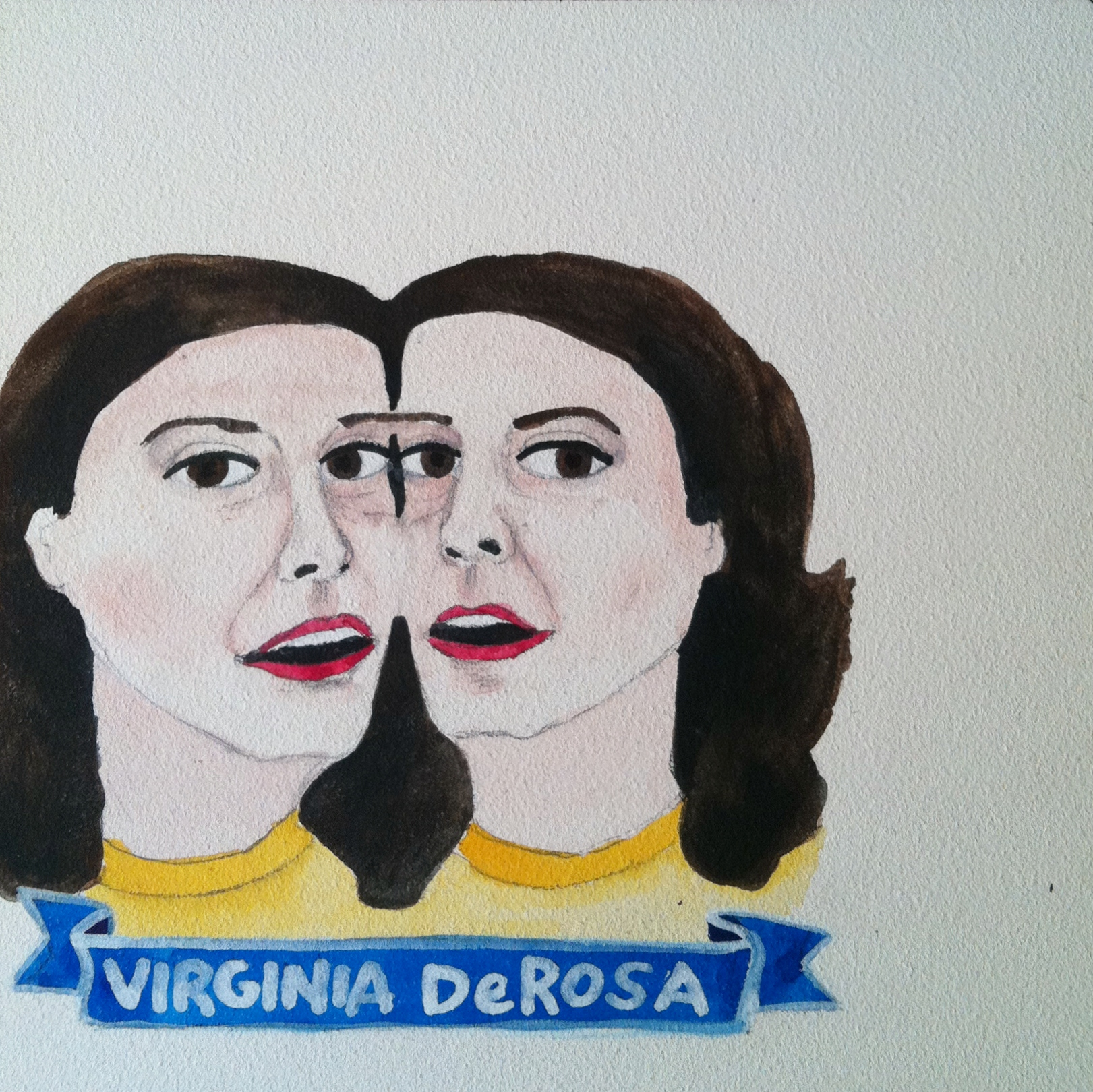 Talent Loves Company at Barbara Archer Gallery: 365 portraits by Lydia Walls - Virginia DeRosa